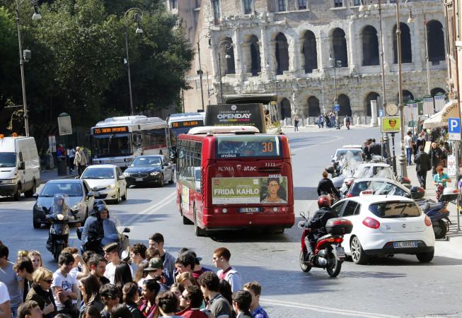 pubblicità su autobus