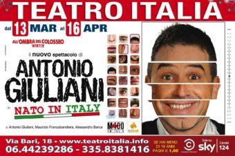Passaparola – Perchè pagare il biglietto? Vinci due biglietti per spettacolo Antonio Giuliani
