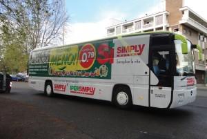 pubblicita autobus