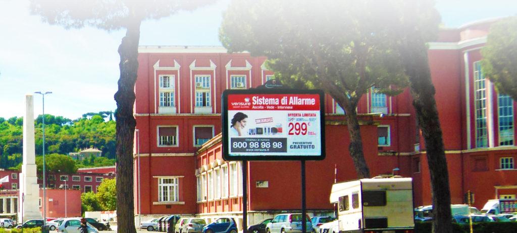 Cartelli pubblicitari stradali