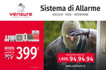 Affissioni pubblicitarie Roma Verisure