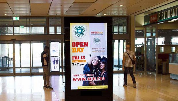 pubblicità centri commerciali