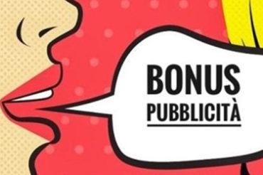 Bonus pubblicità: rilancia le imprese
